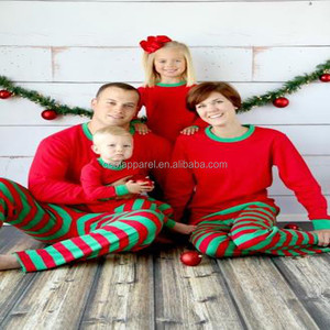 100% Cotton Blank Family Pajamas 173f053ca