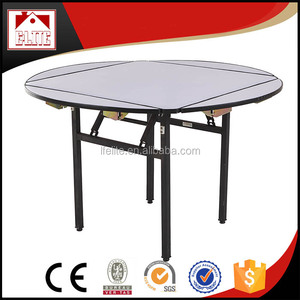 Modern metal half round dining table designs for sale