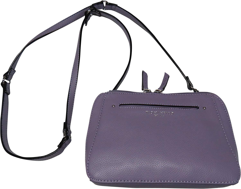 4289b3f31 Get Quotations · Tignanello Leather Bella Belt Bag Crossbody Wisteria Purple
