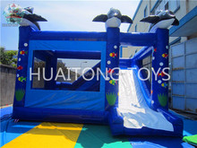 cartoon characters children play toy entertainment inflatable bouncer slide for sale