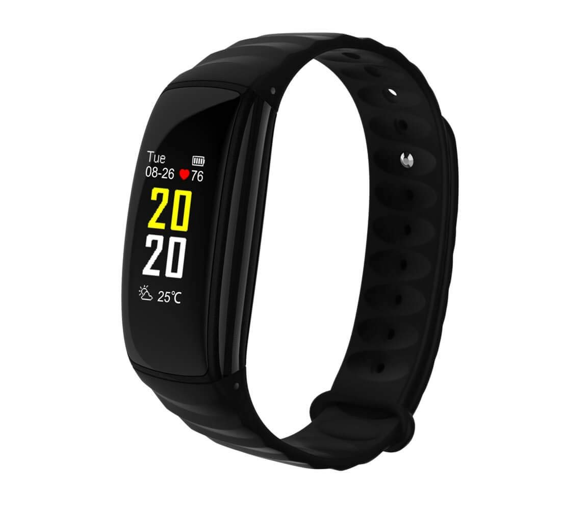 Suumsuun Fitness Tracker Color Screen with Heart Rate Monitor- IP67 Waterproof Smart Wristband Activity Tracker with Calorie Counter, Watch Pedometer, Sleep Monitor | Perfect for Kids Women Men