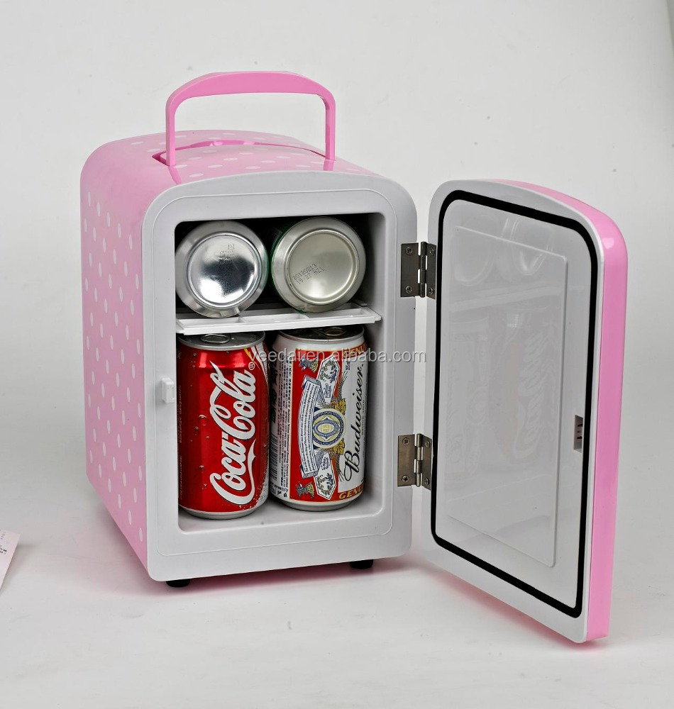 dc/ac 4L travel car fridge room drink peltier cooler <strong>refrigerator</strong> for car