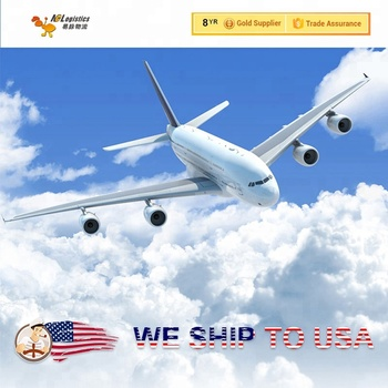 Door to door courier dropshipping shipping rates from China to USA airport