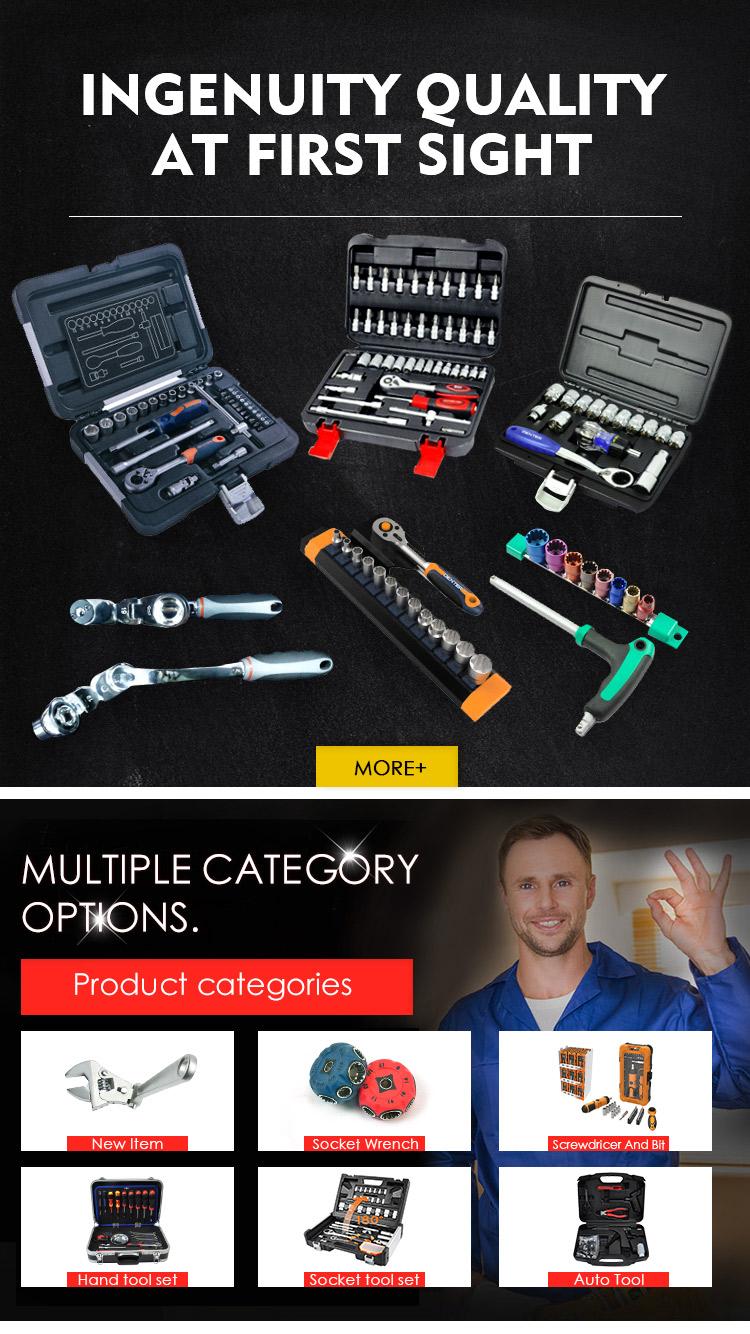 CROWNRICH 70 pcs Nhà Cơ Bản Công Cụ Tool Set với Bag 186 pcs công cụ thiết lập