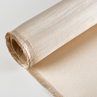 vermiculite textured glass fiber fabric woven fiberglass cloth