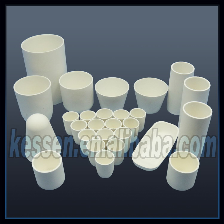 [KESSEN CERAMIC] Refractory/Resistant 2000C high temperature/ceramic Zirconia melting crucible