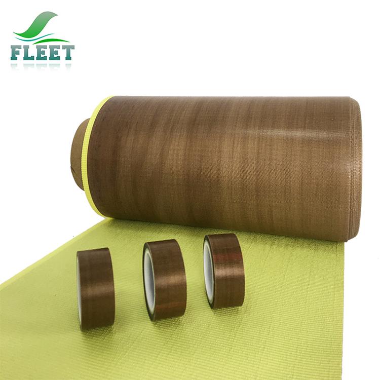 High temperature resistance PTFE fiberglass jumbo roll adhesive tape