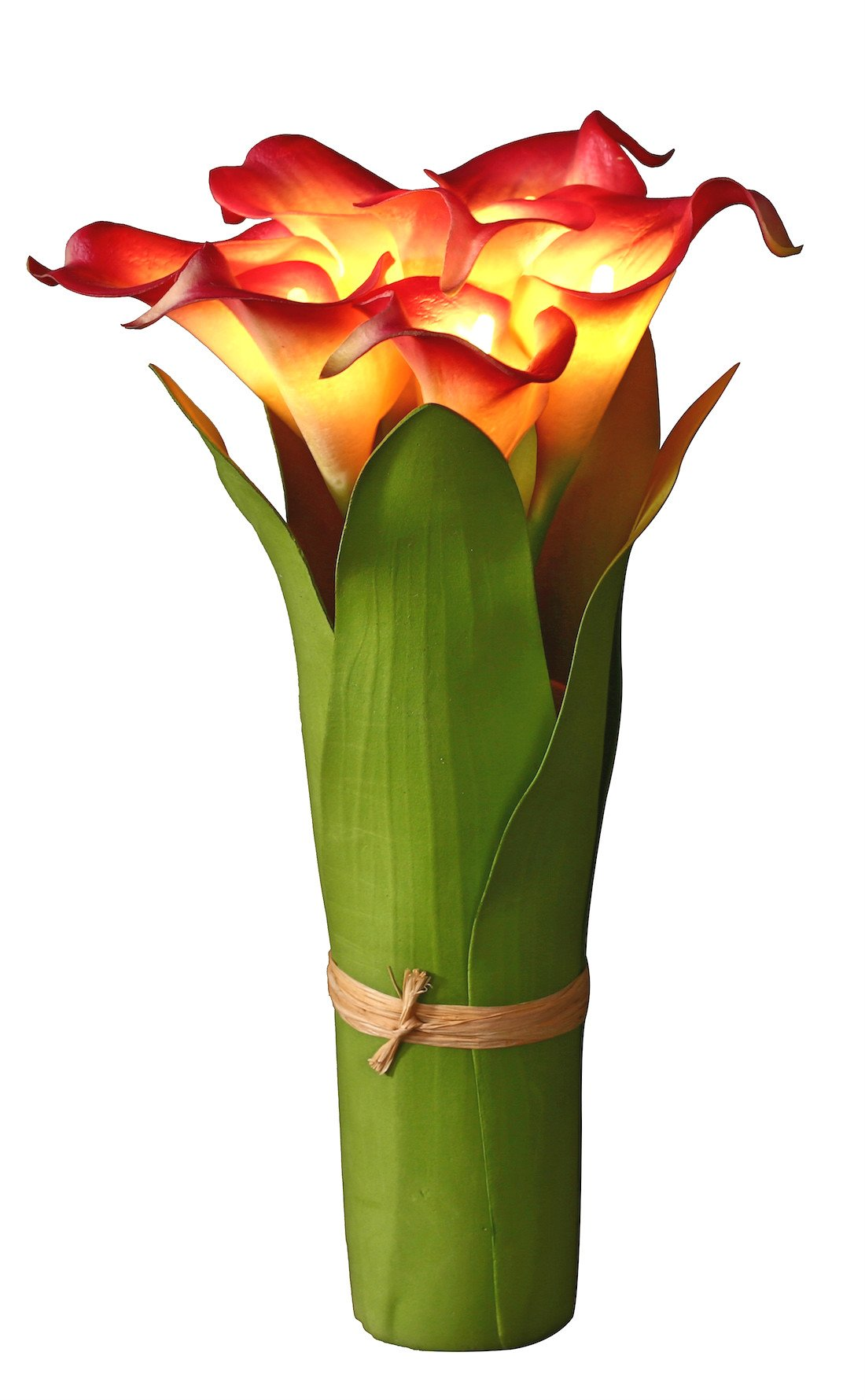 Cheap calla lily flower arrangement find calla lily flower get quotations homeseasons led lighted artificial flower calla lily arrangement battery operated 7 heads calla lily light izmirmasajfo