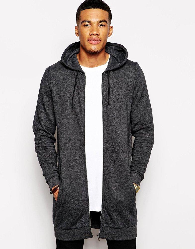 Oem Plain Mens Tall Hoodies With Side Zip,Tall Hoodies Wholesale ...