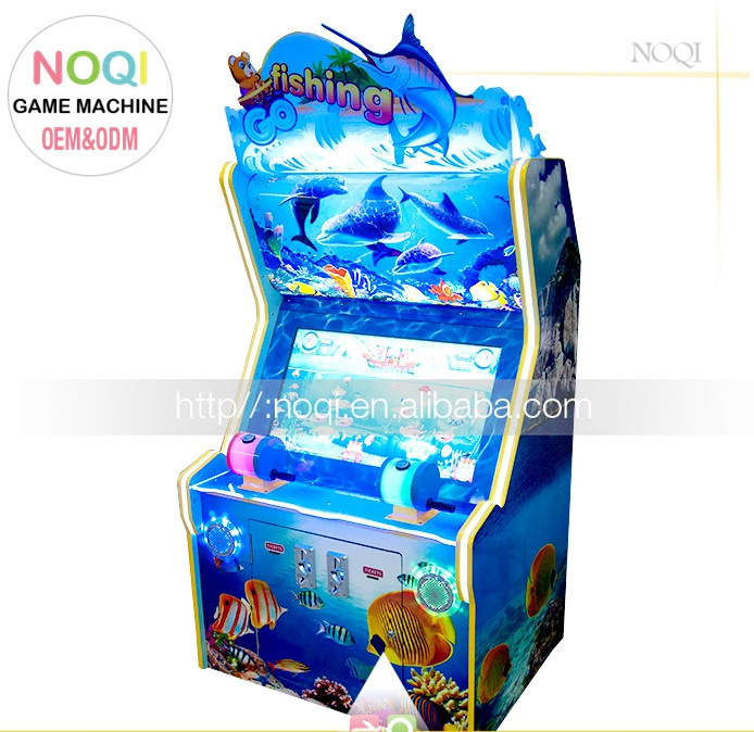 Factory price 1 2 3 4 Player super fishing video game making machine for kids
