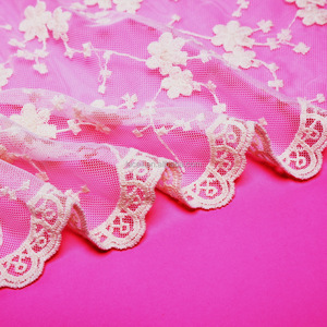 exquisite bridal dress voile lace fabric
