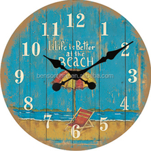Cason restaurant bar country style online shopping MDF wall clock