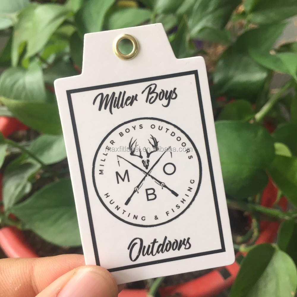 China Custom Swing Tags Paper Garment Hang Tags For Clothing