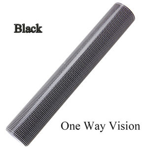 Black Glue vinyl roll One Way Vision Car Vinyl Manufacture