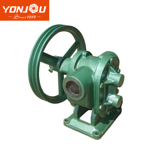 YONJOU BP GC Cast iron belt pulley drive small gear pump for oil
