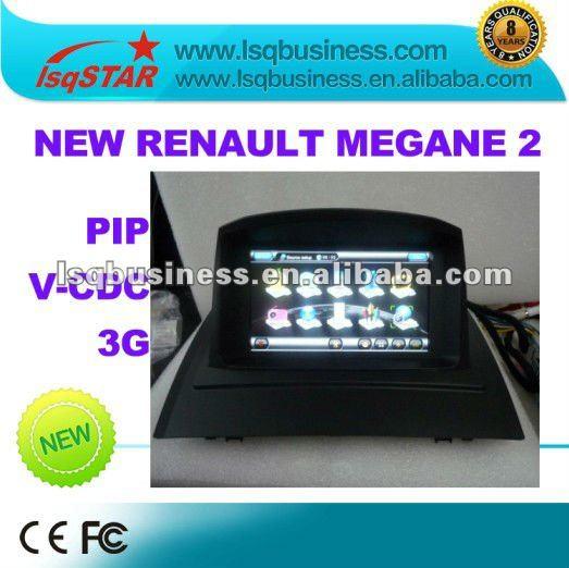 nuevo renault megane 2 autoradio gps con dvd y 3g puerto usb sistemas video coche identificaci n. Black Bedroom Furniture Sets. Home Design Ideas