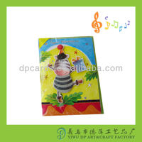 New designs musical paper cards for all occasion