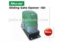 Gate opener swinging