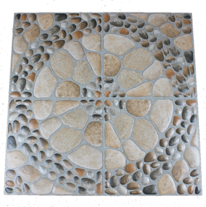 300x300mm foshan imitate pebbles non slip ceramic floor terrace garden tile