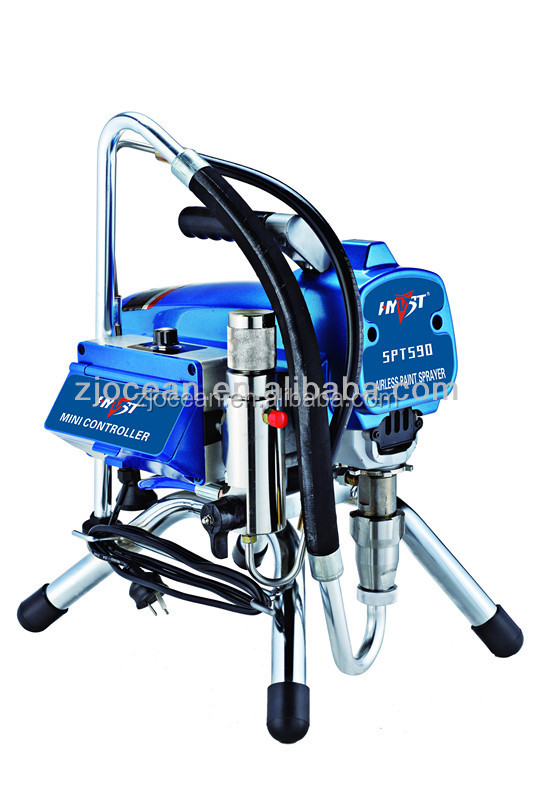 electric spray painting machine hyvst airless paint SPT590