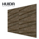HUIDA black grey brown yellow coffee white color 300*600mm 3D ceramic wall tile kitchen tile bathroom tile QPYW06138