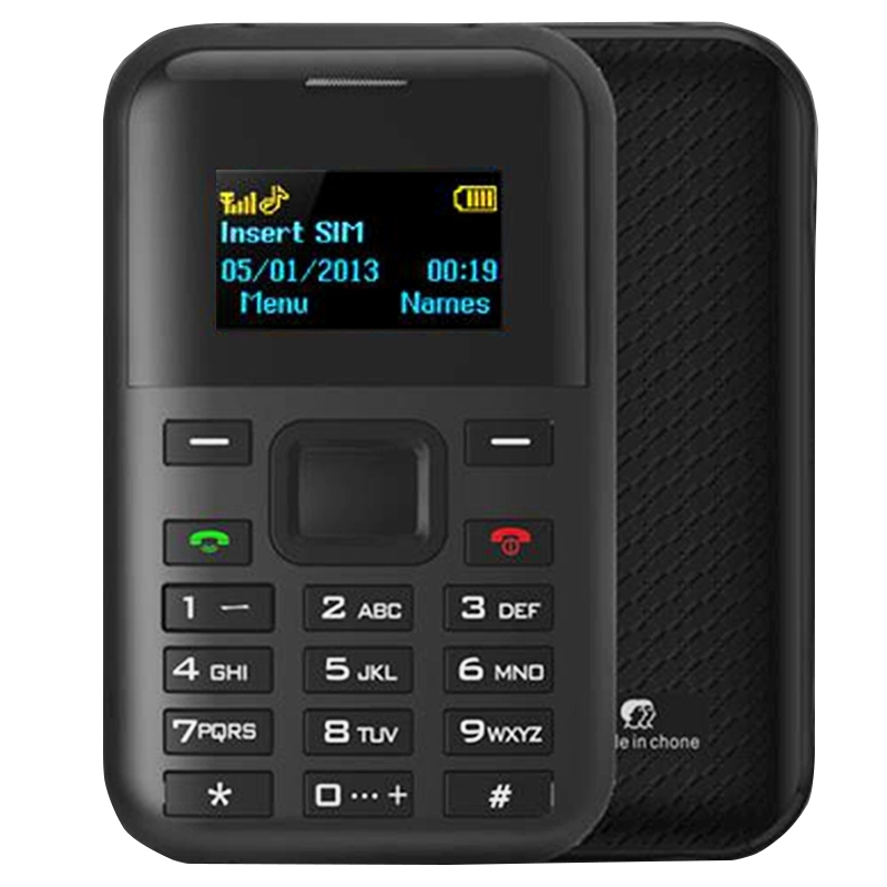 Original AIEK/AEKU C8 Card Phone Special GPS Location Monitor Low Radiation Long Standby Mini Pocket Mobile Phone MP3 Player