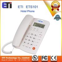 Landline Analog Caller ID Phone, Corded Telephone.