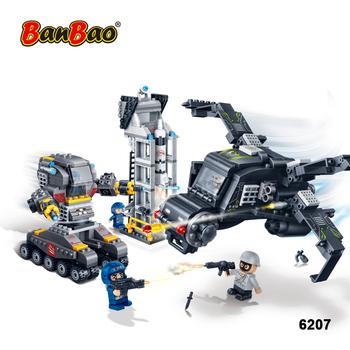 Plástico Base Policía Ladrillos Coche Tobees La Banbao Construcción Robot Juguetes Estación Lindo Avión Educativos Bloques Cifras De 6207 zpUGLqVSM