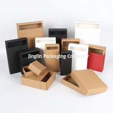 Brown Kraft Cardboard Drawer Packaging Sliding Box for Socks
