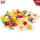 Children Pretend Play Toys Kitchen Play Toys Wooden Fruit Food Cutting Toys TH0152