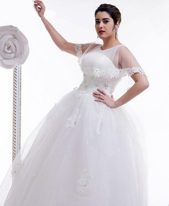 Full Figure Wedding Gowns: Popular Wedding Dresses For Full Figured Women-Buy Cheap