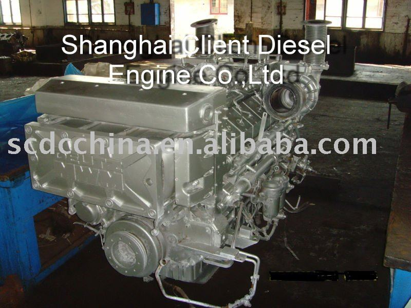 TBD616V12 Used marine engine