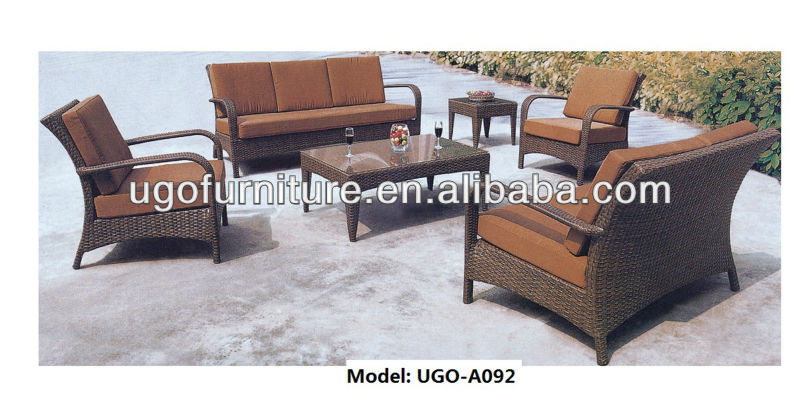 Garden Rattan home furniture sofa/patio outdoor furniture