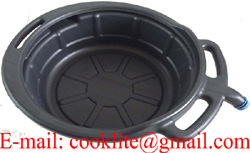 7L Oil Drain Pan Black