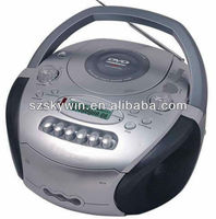 Portable DVD CD boombox /player with USB/SD/MP3/Radio