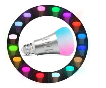 Factory Price E27 Base Type Led RGB Light Smart Wifi Intelligent Light Bulb with App Control