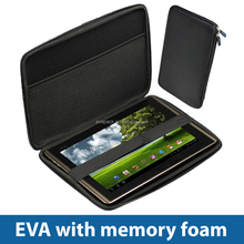 Protective EVA Foam Computer Case with Rubber Logo