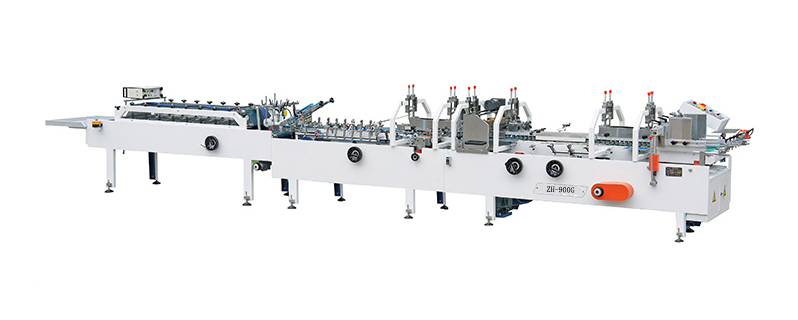 Manufacturing process professional made long life folder gluer machine