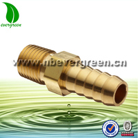 "water connections garden hose connector 3/4"" brass hose adaptor"