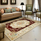 Flower design luxury living room handmade wool rugs carpet