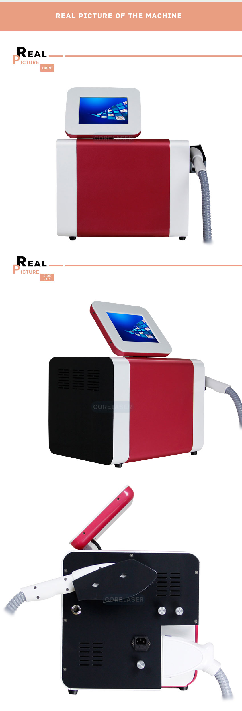 2020 SHR Elight IPL hair removal machine