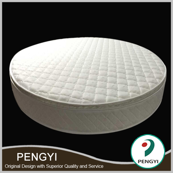 Perfect sleep royal comfort round natural latex mattress wholesale,latex free mattress