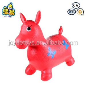 Fashionable Painting jumping Horse Riding Toy