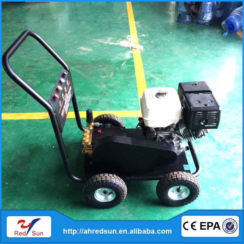 Hot selling clean tank made in china gasoline high pressure washer