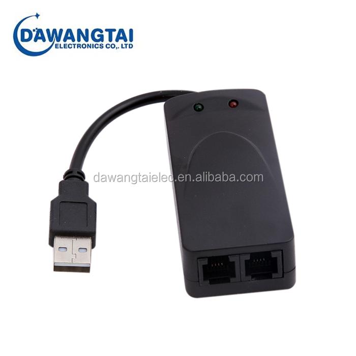 External 56K USB 2.0 V.90 V.92 Fax Data Modem for Win 7 8 XP VISTA 32//64 Bit