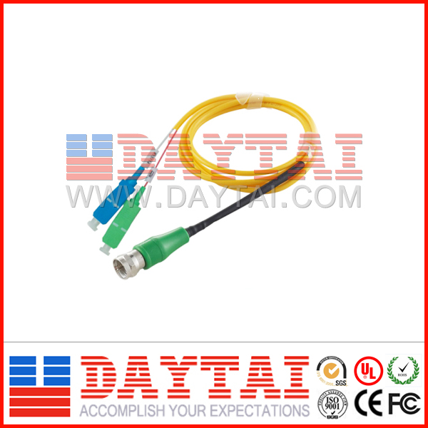 Cable Type CATV+PON WDM Optical Receiver FTTH Converter/Node for Digital TV
