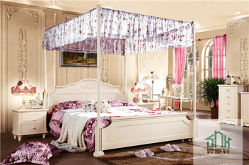 White Adult Bedroom Set Furniture Ha-808# Princess Style Bed Fancy ...