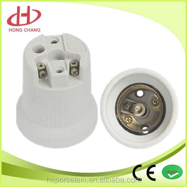 wholesale e40 porcelain lamp holder electric lamp socket