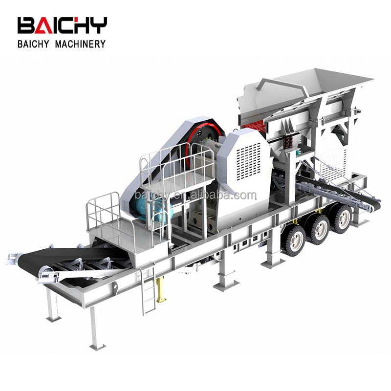 Strongly Recommend Mobile Jaw Crusher Plant