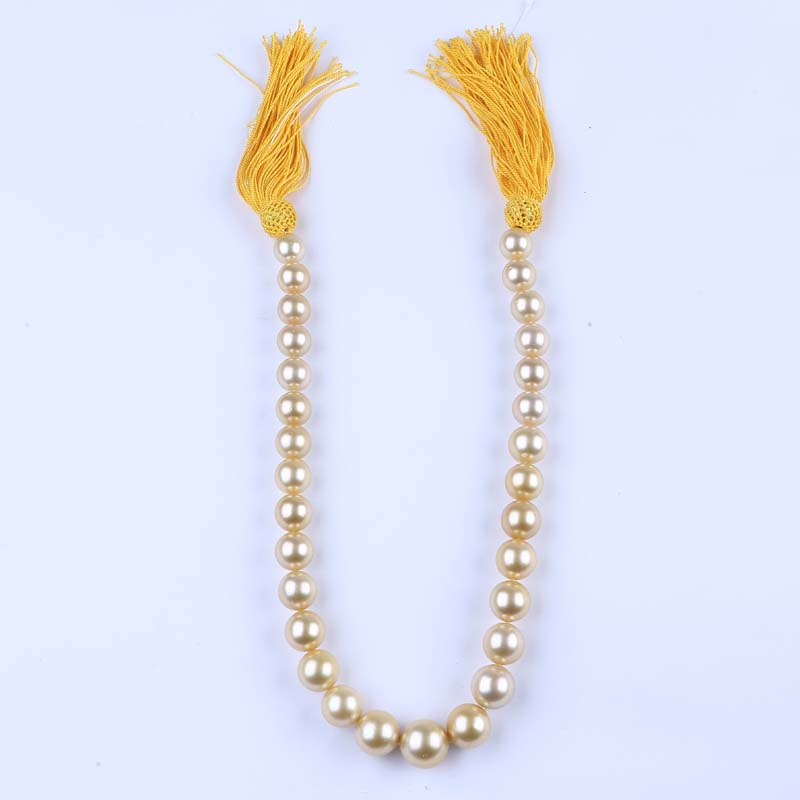11-14mm AA Natural Cultured Seawater Cultured Loose South Sea Gold Pearls